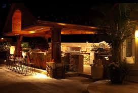 Awesome Patio Lighting Ideas Outdoor Stylish Design With Amazing Kitchen Using