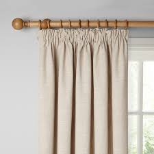 buy john lewis croft collection skye lined pencil pleat curtains