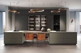 außergewöhnliche küchenfronten aus linoleum bioboard und