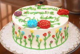 Birthday cake deco