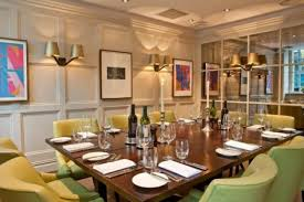 Grubb Street Room At Chiswell Dining Rooms 1