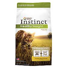 high protein cat food nature s variety instinct boost healthy weight cat food