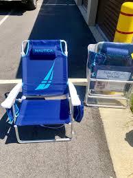 100 Nautica Folding Chairs 30A 6Beach Chair 3Umbrella Rental Pack Bring To Beach Yourself