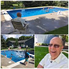 94-Year-Old Opens Pool For Kids After Wife's Death | PEOPLE.com Aqua Pools Online In Ground Above Orland Park Il Backyard Pool Oasis Ideas How To Build An Arbor For Your Cypress Custom Exterior Design Simple Small Landscaping And Best 25 Swimming Pools Backyard Ideas On Pinterest Backyards Pacific Paradise 5 The Blue Lagoons 20 The Wealthy Homeowner 94yearold Opens Kids After Wifes Death Peoplecom Gallery By Big Kahuna Decorating Thrghout Bright