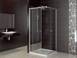 dusche duschkabine schiebetür eckdusche duschabtrennung duschschiebetür glas 80x80