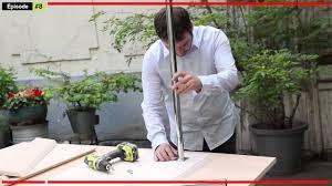 fabriquer table haute cuisine fabriquer un mange debout