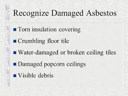 Asbestos Ceiling Tile Identification by Asbestos Awareness For Construction Activities Asbestos Cancer And