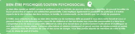 bien être psychique soutien psychosocial portail rh