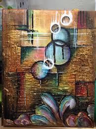 Original 95x12 Acrylic Paint On Canvas