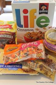 Pumpkin Spice Chex Mix With Candy Corn by Pumpkin Spice Chex Mix Recipe Party Mix Chex Mix And Candy Corn