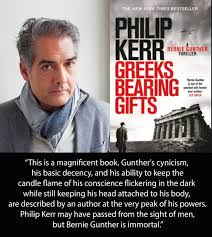 GREEKS BEARING GIFTS Between The Covers GBG Compo Header Philip Kerr