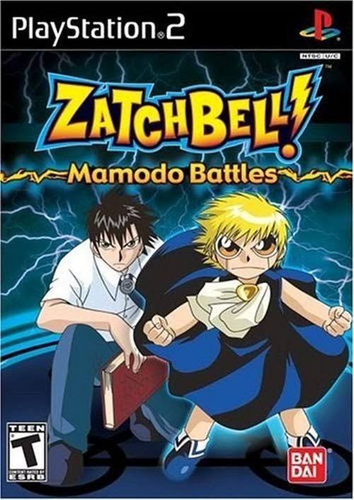 Zatchbell Mamodo Battles - PlayStation 2