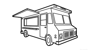 Food Truck Drawing At GetDrawings.com | Free For Personal Use Food ... Semi Truck Outline Drawing Peterbilt Coloring Page How To Sketch 3d Arstic Of A Simple Draw Youtube An F150 Ford Pickup Step By Guide Illustration With Royalty Pencil Sketches Trucks Drawings Excellent Vector Cliparts To A Chevy Drawingforallnet Black White Stock 551664913 Old Speed Diesel Transportation Free