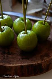 Poisoned Halloween Candy by Black Toffee Apples Not Quite Nigella