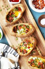 Breakfast Baked Potatoes - The Candid Appetite 15 Frugal Meals For A Small Grocery Budget Baked Potato Bar Twice Potatoes With Bacon And Cheddar Simple Awesome Best 25 Ideas On Pinterest Potato Used A Fully Loaded Guide To The Ultimate Serious Eats Potatoes Baked Grilled Bar Platings Pairings Picmonkey Image 31 Office Lunch French Fry The Pioneer Woman Easy Skins Recipe Cwhound Sweet Healthy Ideas For Kids