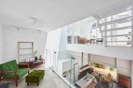 House H - An Old Studio Is Transformed To A Bright Contemporary ... Small House In Chibi Japan By Yuji Kimura Design The Frontier Is A Hexagonal Home Toyoake Hibarigaoka S Makes The Most Of A Lot K Tokyo Loft Camden Craft Shminka Issho Architects Fuses Traditional And Modern Kitchen Room Gandare Ninkipen Osaka Humble Contemporary Apartment For People Cats Alts Office Loom Studio Aspen 1 Friday Collaborative Australian Gets Makeover Techne Baby Nursery Inexpensive Houses To Build Cool Living Experiment An Old Retro