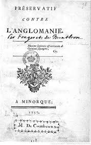 LEFT Voltaire Lettres Philosophiques 1734 BnF Gallica RIGHT Fougeret De Montbron Preservatif Contre Langlomanie 1757
