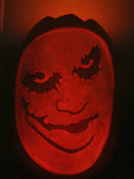 The Joker Pumpkin Stencil by Joker Pumpkin Lit By Jfg2597 On Deviantart