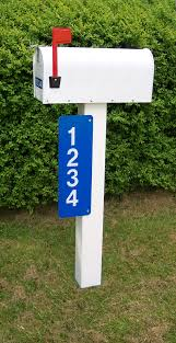 Decorative Reflective Driveway Markers by Safety Address Number Signs