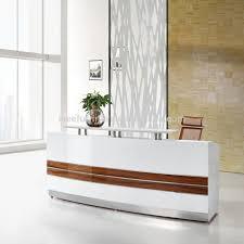 Modern Office Reception Desk Design Curved Counter Table Hotel Ie Buy Des