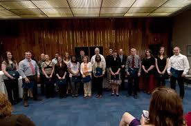 Derr Flooring Herndon Va by Honor Societies Induct New Members In Weekend Ceremonies