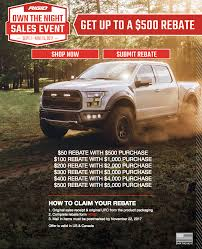 Rigid Own The Night Sales Event – Up To $500 In Rebates!: RIGID Has ... Chevy Truck Month New Trucks For Sale In Montana At Your Dodge Rebates 2017 Charger 118 Chevrolet Commercial Work Trucks And Vans Stock Near Ontario To Introduce Rebates Boost Electric Truck Demand Silverado 1500 Waukon California Approves Up 16 Million Green K S Ford Vehicles Sale Fairbury Il 61739 Irl Intertional Centres Ltd Dealership Kamloops Discounts On The Militarys Top Cars On Western Star Offers Rebate Womens Trucking Federation Members