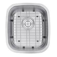 Undermount Bar Sink White by Ruvati Rvm4110 Undermount 16 Gauge 15 U2033 Bar Sink Single Bowl