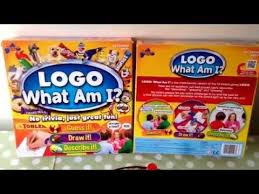 Logo What Am I Board Game For Children Rules Instructions How To Play
