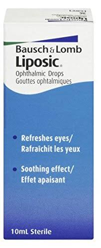 Bausch and Lomb Liposic Opthalmic Drops - 10ml