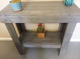 Wooden Pallet Entryway Console Ideas