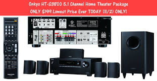 kyo HT S3800 5 1 Channel Home Theater Package ONLY $199 00