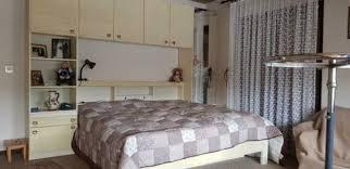 retro schlafzimmer komplett bergahorn schränke bett u überbau