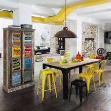 chaise industrielle maison du monde mobilier industriel chaises et tabourets salons bar and lofts