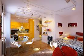 Chic Studio Apartment This Colorful