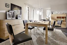 esszimmer 7teilig acerro rustikale asteiche massiv casade mobila