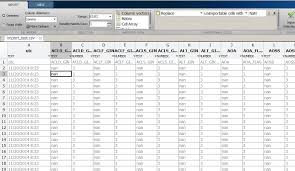 how to get matlab import to see col with nan as number matlab