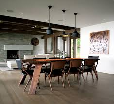 Dramatic Dining Room Design
