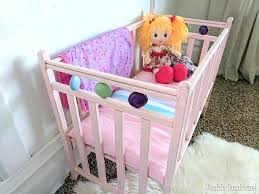 Badger Basket Doll Bed by Baby Doll Cribs And Cradles Badger Basket Doll Crib Walmart Doll