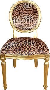 casa padrino barock luxus esszimmer stuhl leopard gold mod2 designer stuhl hotel restaurant möbel luxus qualität