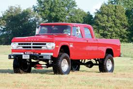1970 Dodge Crew Cab - Cummins Swap Power Wagon - 8-Lug Diesel Truck ...
