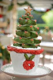 Potted Christmas Tree by Ashlyn Potted Christmas Tree Recipe The Great American Baking Show