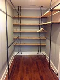 diy tutorial on how to make a beautiful walk in closet closets