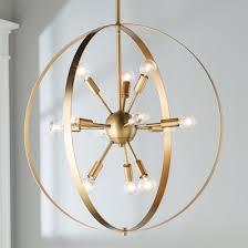 Classic Sputnik Hoop Chandelier
