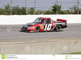 Jennifer Jo Cobb Qualifying NASCAR Truck Series 10 Editorial Stock ...