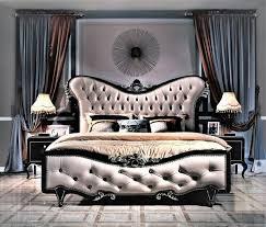 klassische schlafzimmer möbel italienische designer möbel 4tlg bett nachttisch