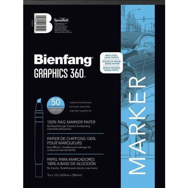 "Bienfang Graphics 360 Paper Pad - 11"" x 14"", 50 Sheets"