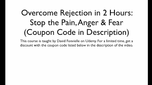 Coupon - Overcome Rejection In 2 Hours: Stop The Pain, Anger ... Receive A 95 Discount By Using Your Bfs Id Promotion Imuponcode Shares Toonly Coupon Code 49 Off New Limited Use Coupons And Price Display Cluding Taxes Singlesswag Save 30 First Box Savvy Birchbox Free Limited Edition A Toast To The Host With Annual Subscription Calamo 10 Off Aristocrat Homewares Over The Door Emotion Evoke 20 Promo Deal Coupon Code Papa John Fabfitfun Fall 2016 Junky Codes For Store Online Ultimate Crossfit Black Friday Cyber Monday Shopping
