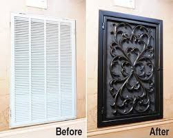 Decorative Air Conditioning Return Grille by Decorative Air Vent Covers Wall Resin Grille Air Return And Heat