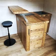 massivholz küche selber bauen roomido zweizeilig mit küche