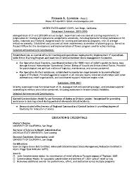 Personnel Manager Resume Department Management Example Security